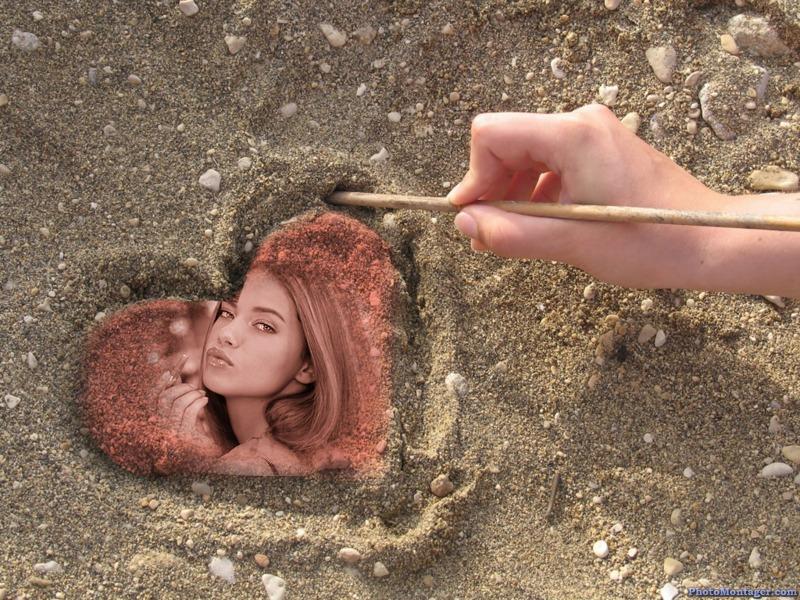 enlace fotomontaje de amor