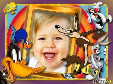 Un hermoso marco para la fotos de los niños de casa, junto a los ...