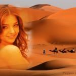 Editar fotos en el desierto