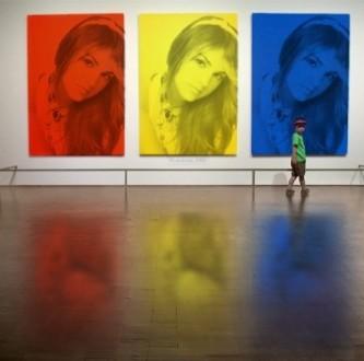 efecto de tres colores