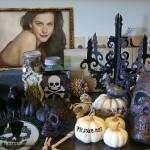 decorar foto  para halloween