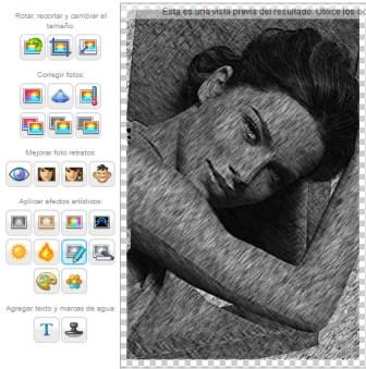 arreglar fotos con efectos online