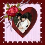 Decorar fotos con imagenes de amor