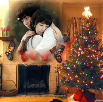editar fotos navideñas