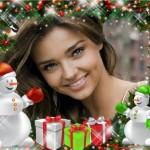 efectos navideños para fotos