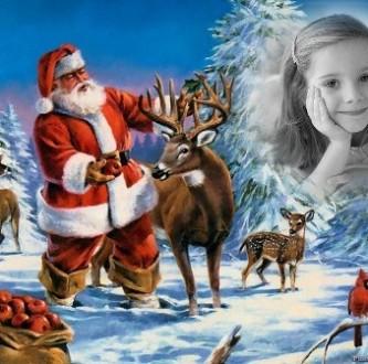 efectos para fotos de navidad