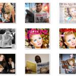 Colocar fotos en portadas de revistas