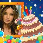 Efectos para fotos de cumpleaños