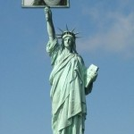Efectos con la Estatua de la Libertad