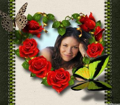 Decorar fotos con marcos de corazones editar fotos gratis - Cuadros para decorar fotos gratis ...