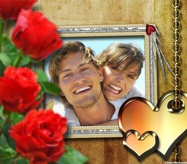 Editar marcos para fotos de amor editar fotos gratis for Enmarcar fotos online