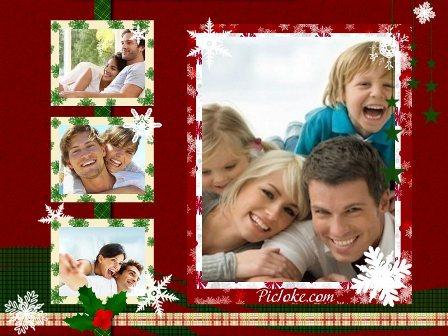Decorar fotos navide as para familia editar fotos gratis - Cuadros para decorar fotos gratis ...