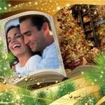 adornar fotos para navidad