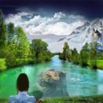Efectos en bellos paisajes