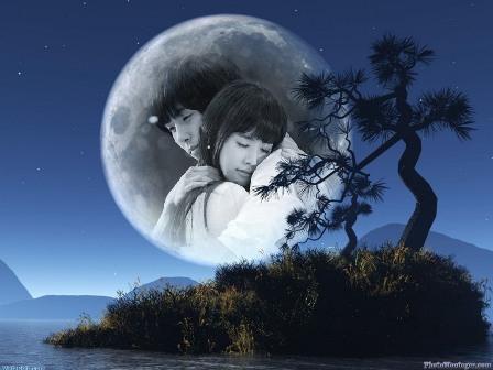 colocar fotos en luna llena