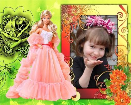 fotomontaje para niñas