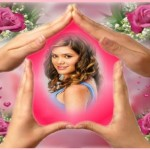 Editar fotos gratis en rosas