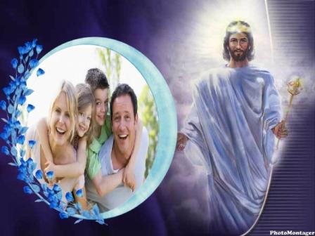 bello montaje de jesus