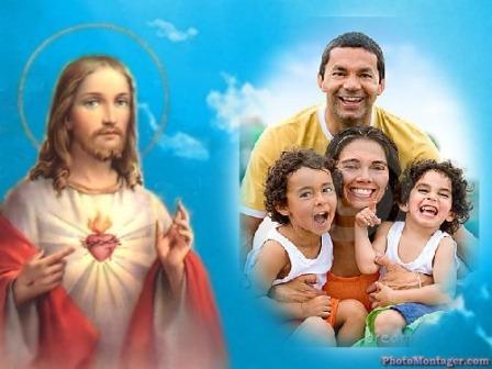 editar fotos con imagen de jesus