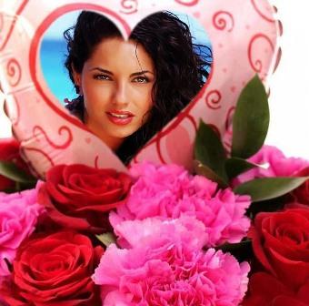 editar fotos con rosas
