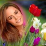 Editar fotos con bonitas flores