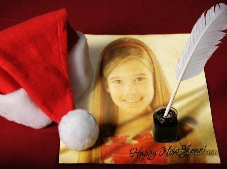 Editar foto de carta a Papa Noel