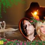editar fotos gratis con marcos de amor