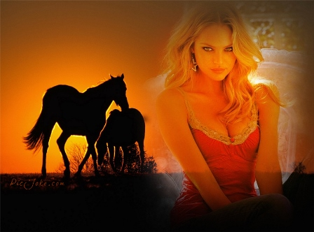 editar fotos gratis con caballos