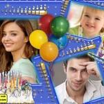 editar fotos gratis con marcos de cumpleaños