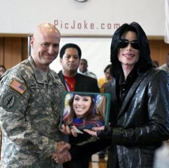 Edita fotos con Michael Jackson