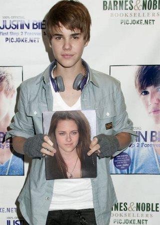 Editar fotos con Justin Bieber