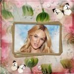 Editar fotos con mariposas y flores