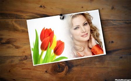 Editar fotos junto a rosas