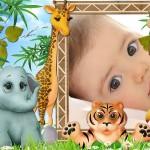 Editar fotos  para niños con animales