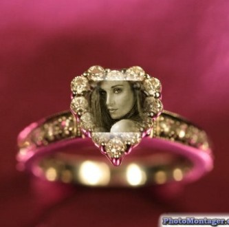 Editar una foto en un anillo