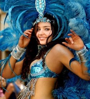 Efectos para fotos con el carnaval brasileño