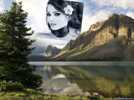 Efectos para fotos en un paisaje natural