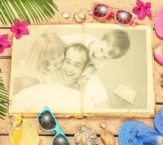 Editar bonitas fotos en la playa
