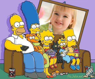 Editar fotos con los Simpson