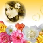 Editar fotos con varias flores