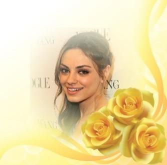 Efectos para fotos con rosas amarillas