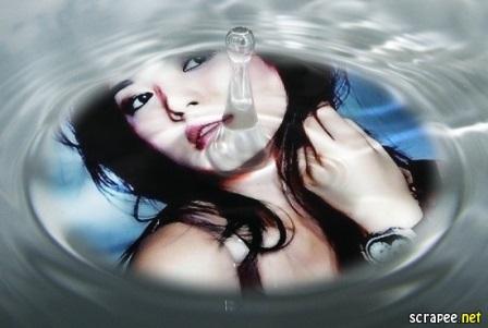 Efectos para fotos en el agua