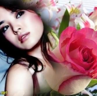 Efectos para fotos con una preciosa rosa