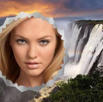 Editar fotos en una cascada