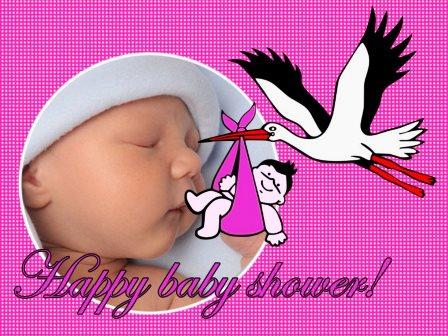 Editar fotos gratis de baby shower