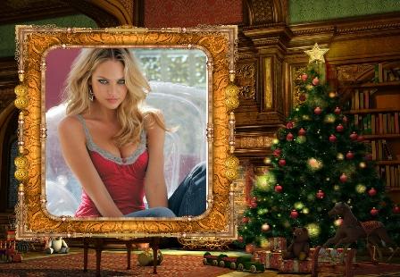 Editar fotos con efectos navideños