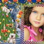 Editar fotos navideñas para niños