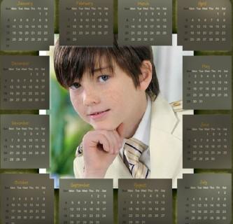 Editar imágenes con calendarios