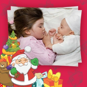 editar fotos con marcos navideños