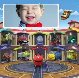 Editar fotos con carros para niños